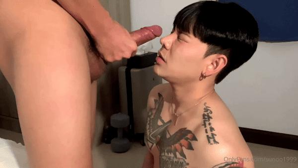 Cum on Hot Face